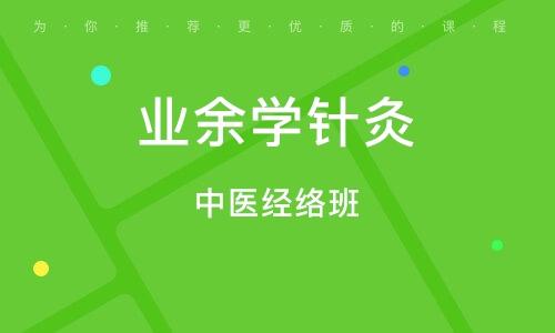 上海业余学针灸
