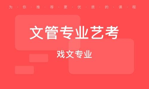 西安文管专业艺考