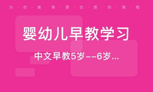 中文早教5岁--6岁半