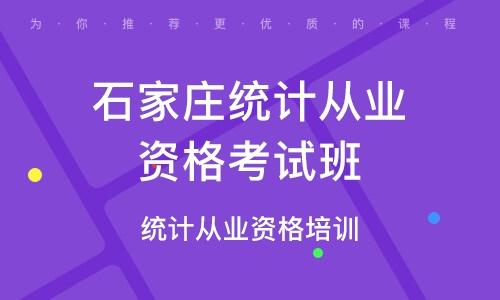 北京统计从业资格考试班