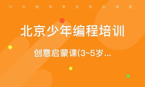 北京少年编程培训