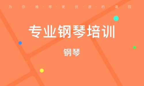 天津专业钢琴培训班