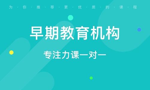 青岛早期教育机构