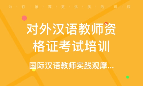 國際漢語教師實踐觀摩(網絡)課