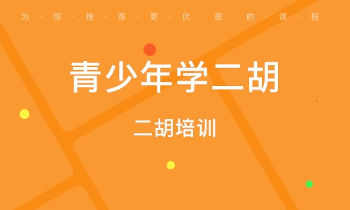 上海青少年学二胡