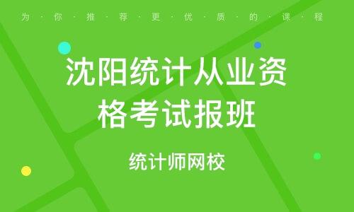 北京统计从业资格考试报班