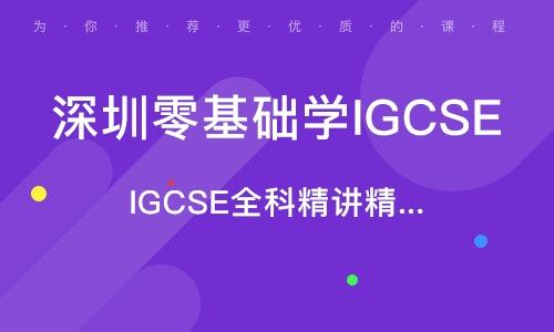 IGCSE全科精講精品課程
