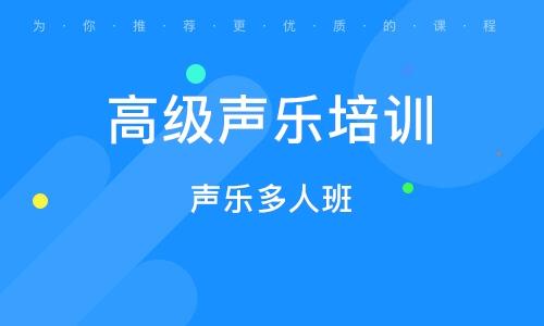 上海高级声乐培训