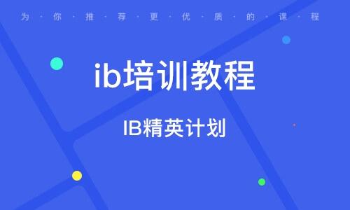 上海ib培训教程