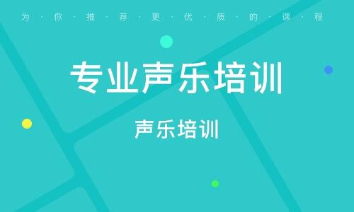 太原专业声乐培训学校