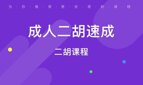 深圳成人二胡速成