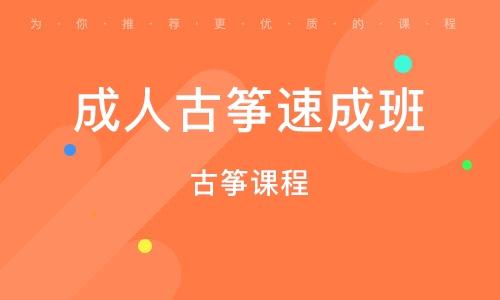 深圳成人古筝速成班