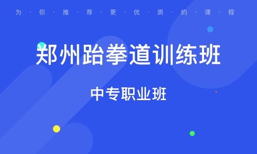 郑州跆拳道训练班