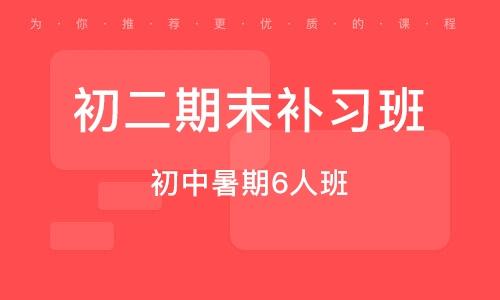 天津初二期末補習班