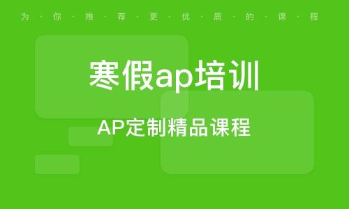 AP定制精品课程