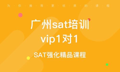 广州sat培训vip1对1
