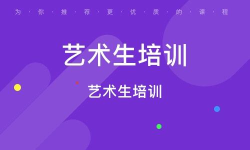 上海藝術生培訓機構