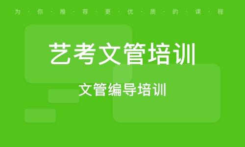 济南艺考文管培训