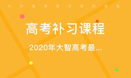 2021年大智高考最后一講