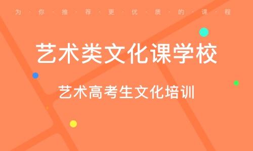 广州艺术类文化课学校