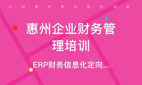 ERP財務信息化定向課程