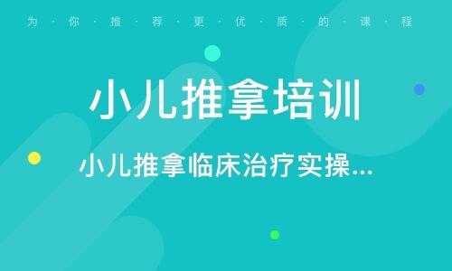 深圳小儿推拿培训课程