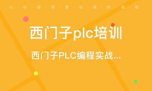 深圳西门子plc培训