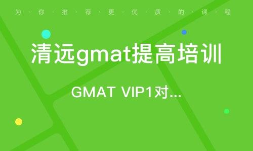 GMAT VIP1對1