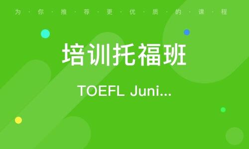 TOEFL Junior私人定制课程