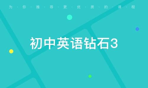 初中英語鉆石3-6人定制班