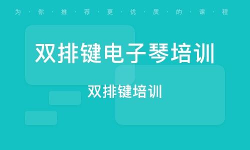 广州双排键电子琴培训