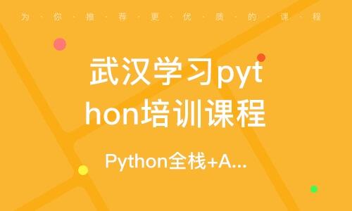 武汉Python全栈+AI工程师课程