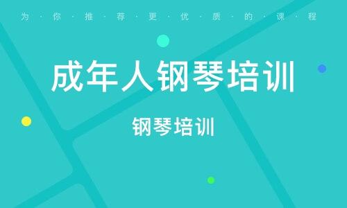 深圳成年人钢琴培训