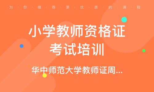 武汉小学教师资格证考试培训