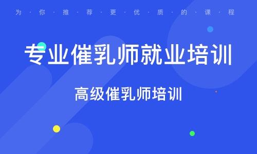 太原专业催乳师就业培训