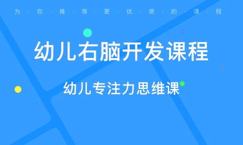 廣州幼兒右腦開發課程