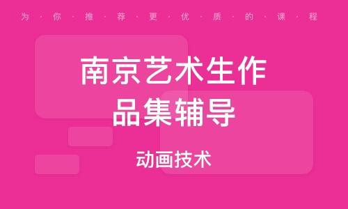 南京艺术生作品集辅导