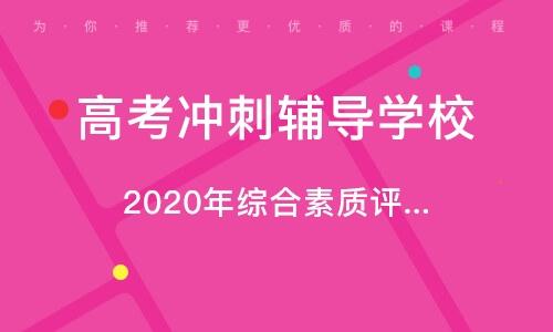 2020年综合本质评价招生培训班