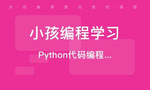 济南Python代码编程课