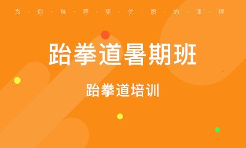 郑州跆拳道暑期班