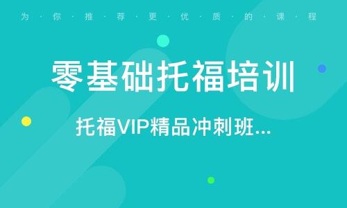 托福VIP精品冲刺班(争100/110分