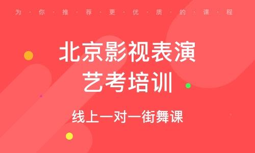 北京影視表演藝考培訓