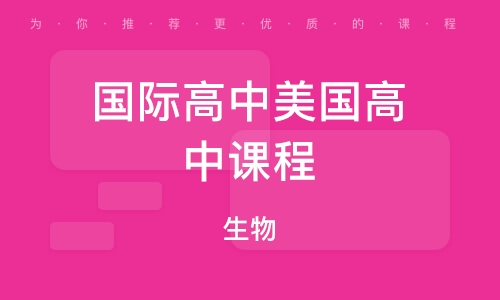 武汉国际高中美国高中课程