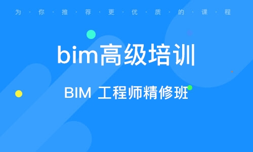 BIM 工程师精修班
