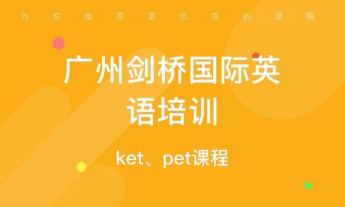 ket、pet课程