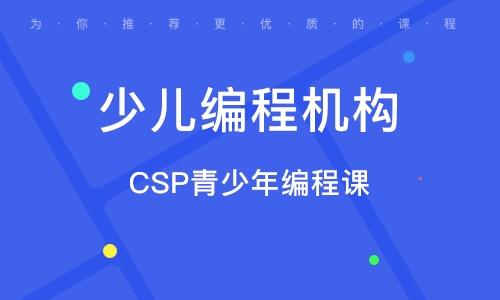 CSP青少年编程课