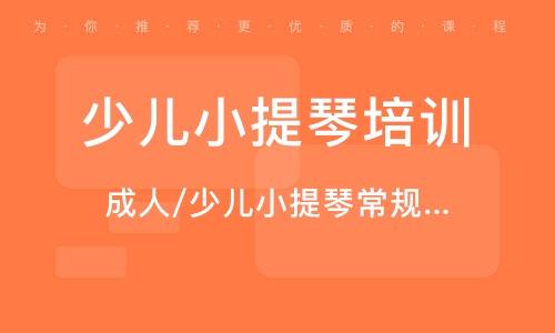 广州少儿小提琴培训学校