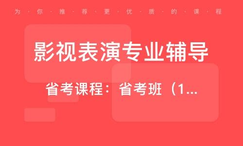 杭州影視表演專業輔導