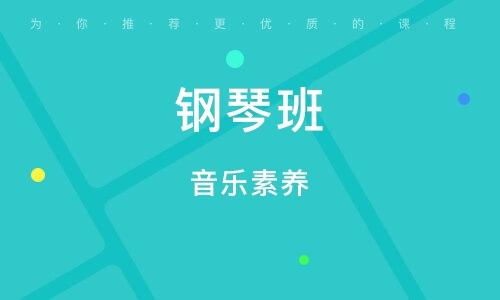 深圳钢琴班