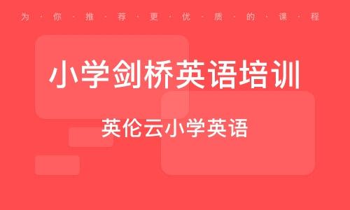 广州小学剑桥英语培训